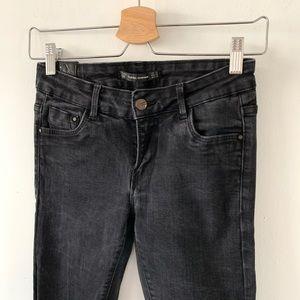 Zara black skinny denim size USA 4/ EUR 36